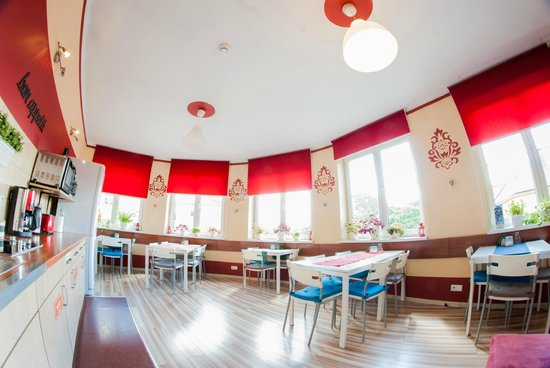 Premium Hostel: Kitchen