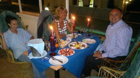 Atlantico Bar Restaurant: Wedding Anniversary , 2014