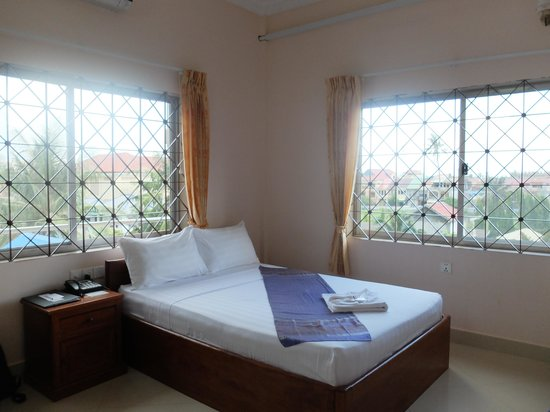 Kampot Riverside Hotel: La chambre 1
