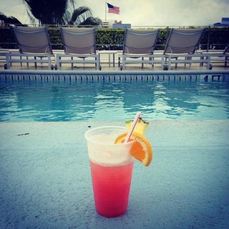 The Hotel of South Beach: Cocktail de bienvenue!