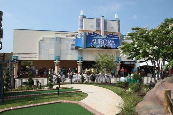 ‪Aurora Cineplex and Minigolf‬