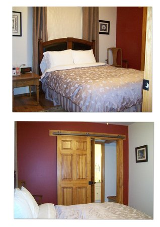 Appletown Bed and Breakfast: Dawson suite with beautiful sliding door