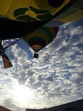 Totglobo : Una foto muy bonita, los dos globos en perspectiva