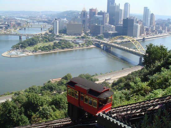 Duquesne Incline: Great view from the top of Mt. Washington