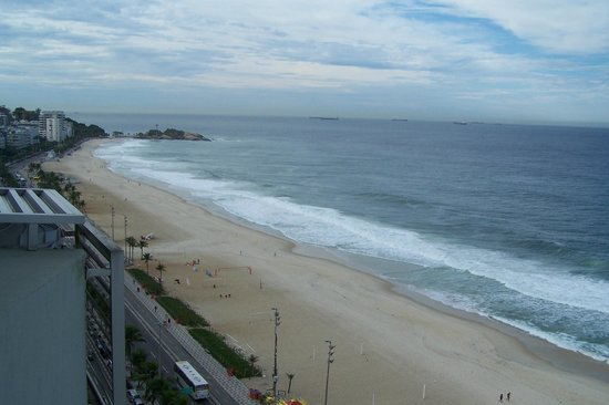 Sol Ipanema Hotel: View from our room on the 14th floor