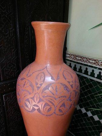 Riad Assalam : decoration