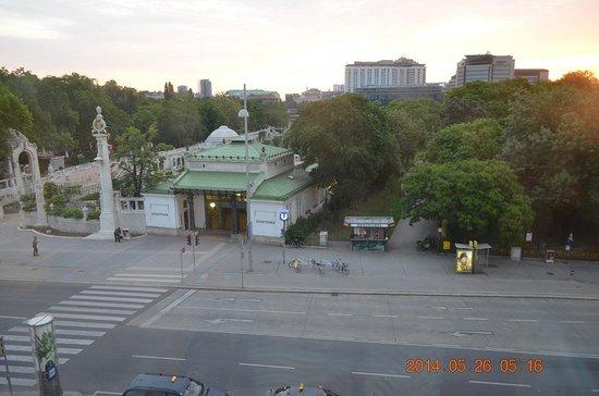 InterContinental Wien: 部屋からの眺め