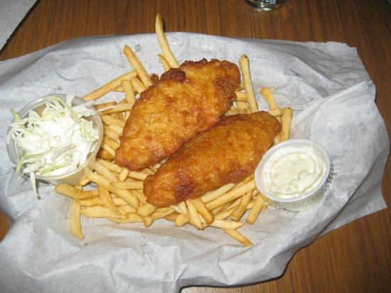 O'Rorke's Eatery & Spirits: Fish platter