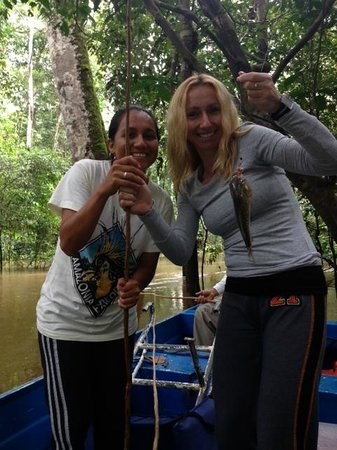 Amazonia Expeditions' Tahuayo Lodge: Piranha fishing