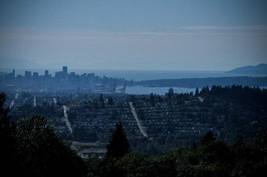 View from Horizons Restaurante, Burnaby