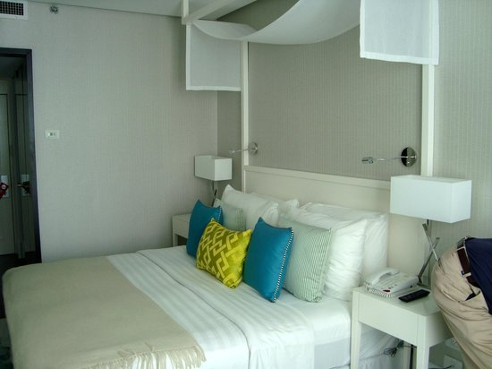 Melody Hotel   Tel Aviv - an Atlas Boutique Hotel: Our Room, Small but Very Nice & Clean
