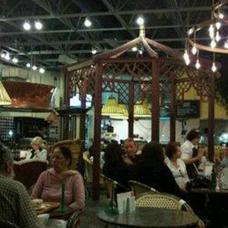 Richtree Market Restaurants: Partial view of inside seating area