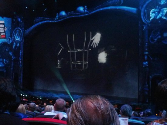 Michael Jackson ONE by Cirque du Soleil: You can't go wrong with the Middle Section great view