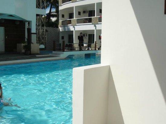 Boracay Ocean Club Beach Resort : From the patio