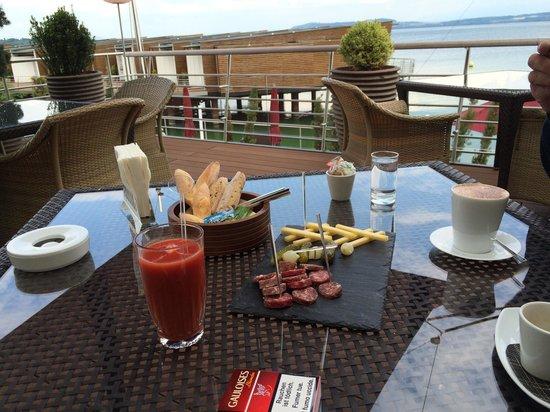 La Table de Palafitte: Une des plus belles terrasses...