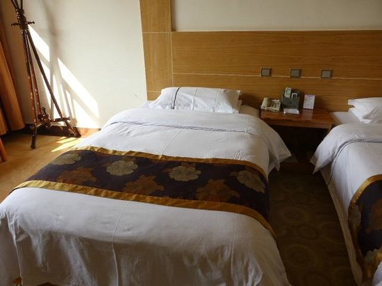 Yunti Hotel: Slightly firm, but comfortable beds