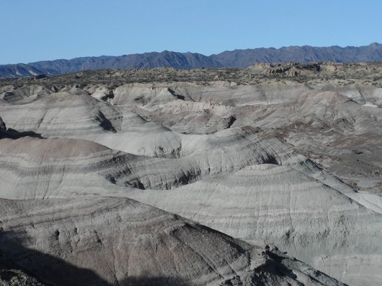 The Valley of the Moon: Ceniza volcanica