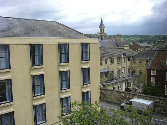 Francis Hotel Bath - MGallery by Sofitel : View from the room
