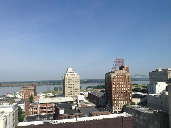 The Peabody Memphis: Rooftop view