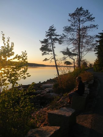 Mount Desert Island: Sunset