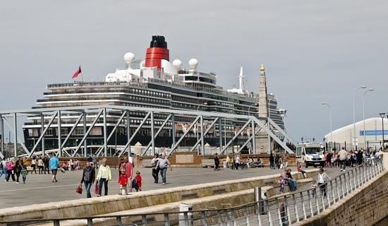 Queen Victoria, Liverpool Pier Head 31/05/2014.