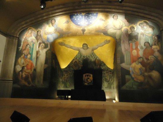 Antiguo Colegio de San Ildefonso: A Criação, Diego Rivera,  1922