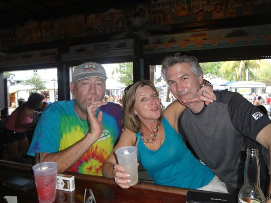 Trails And Tales Of Key West The Bull Whistle Chart Room Bar