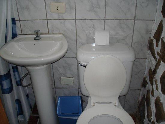 Hostal Chayana Wasi: bathroom