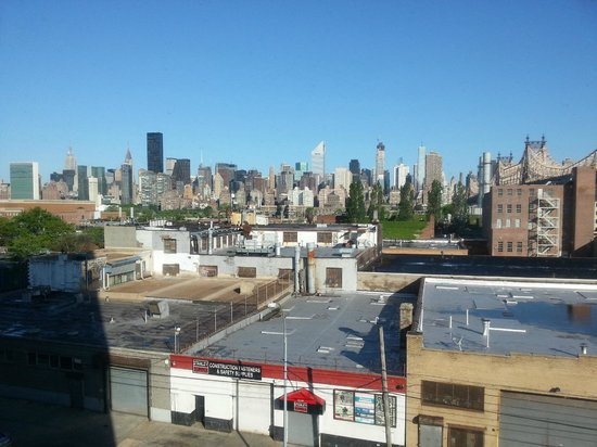 Z NYC Hotel : panorama dal tetto