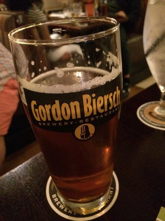 Gordon Biersch Brewing Company : Artesanal beer