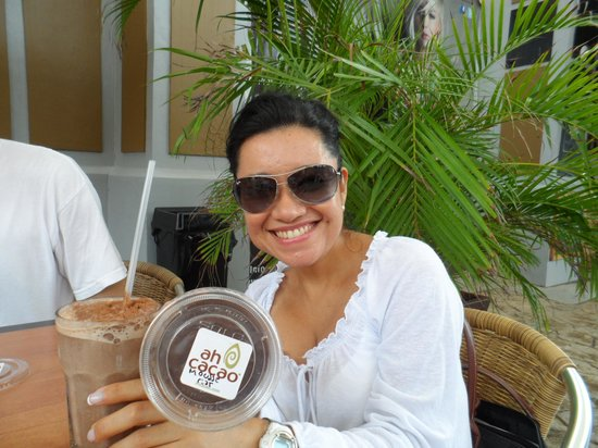Ah Cacao Chocolate Cafe : Ah Cacao La Isla Cancùn