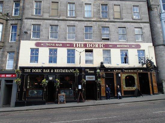 Doric Restaurant Edinburgh