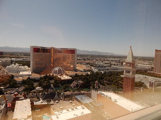 The Venetian Las Vegas: View from windown