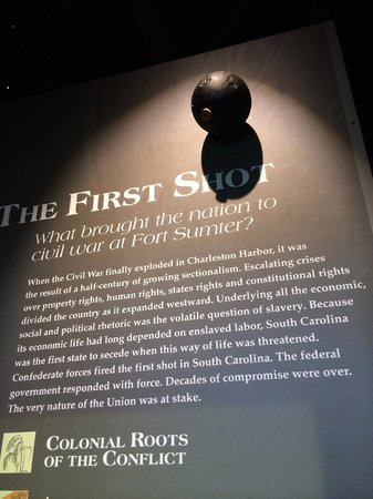 Fort Sumter National Monument: The First Shot!