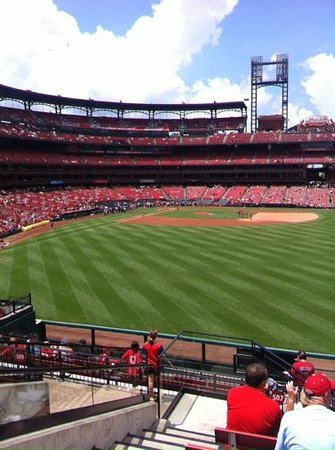 Busch Stadium: look at this view!