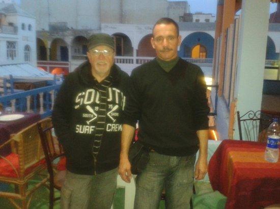 Le Corail - Chez Tarik: avec Tarik le patron! très sympathique et serviable