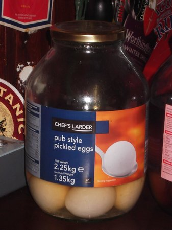 Craigdarroch Arms Hotel: Pickled eggs