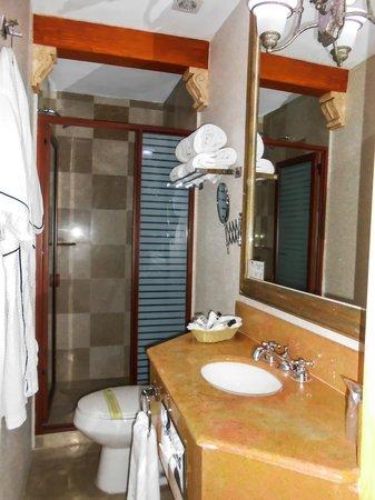 Villahernan Hotel Boutique : Baño
