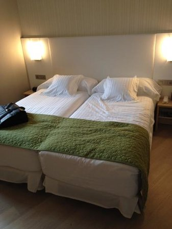 Barceló Bilbao Nervión: bedding