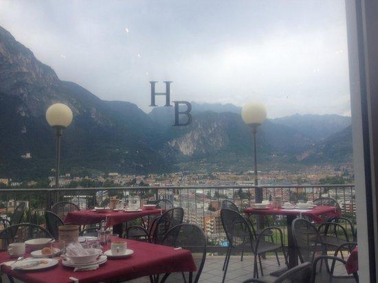 Panoramic Hotel Benacus : Il terrazzo