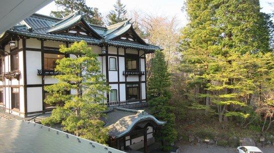 Nikko Kanaya Hotel: Dragon Palace building