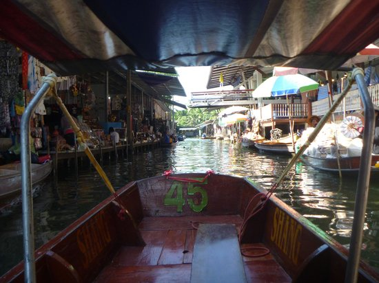 Landmark Bangkok: The floating market