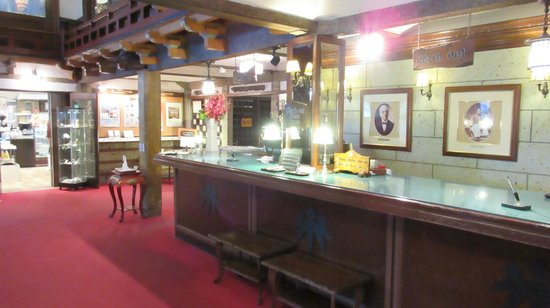 Nikko Kanaya Hotel: Reception