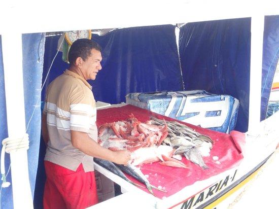 Fresh Fish at Floating Market