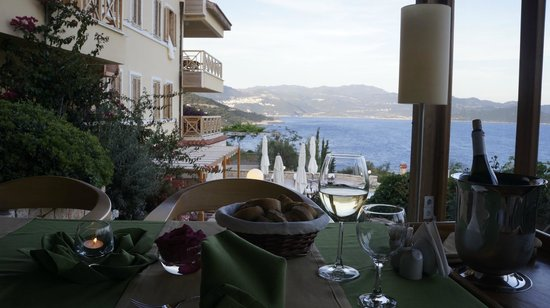 Lycia Hotel: Lycia Otel - Kas - View from restaurant