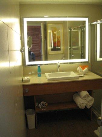 Sunscape Curacao Resort Spa & Casino: Our bathroom