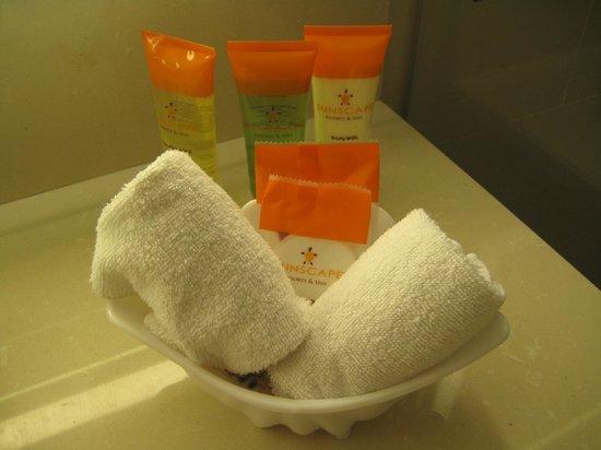 Sunscape Curacao Resort Spa & Casino: Bathroom amenities