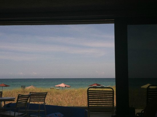 Casa del Mar Beach Resort: View from the den in 3E