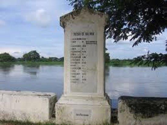 La piedra de Bolivar