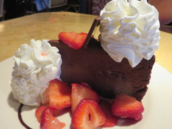 The Cheesecake Factory: Godiva, our favorite....